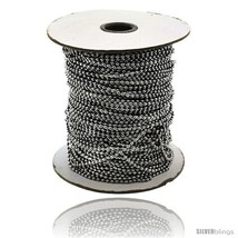 Stainless Steel Bead Ball Chain 1.5 mm 100 Yard Spool -Style  - $234.23