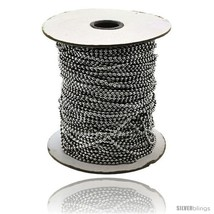 Surgical Steel Bead Ball Chain 1.5 mm 100 Yard Spool -Style  - $234.23