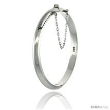 Sterling Silver Children's Bangle Bracelet High... - $29.21