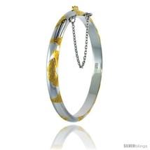 Sterling Silver Children's Bangle Bracelet 2 To... - $34.36