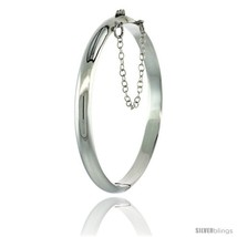Sterling Silver Children's Bangle Bracelet Juni... - $35.83