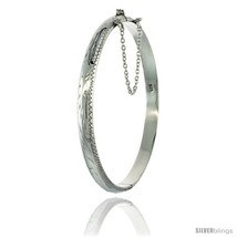 Sterling Silver Children's Bangle Bracelet Juni... - $34.18