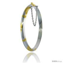 Sterling Silver Children's Bangle Bracelet Juni... - $37.73