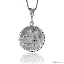 Sterling Silver Saint Joseph Medal, 1  - $80.51