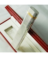 Cartier Table Lighter Ovale Silver and Gold - Never used - $740.00