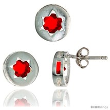 An item in the Jewelry & Watches category: Sterling Silver Jewish Star of David Stud Earrings (9 mm) & Pendant Slide (9