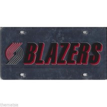 PORTLAND TRAILBLAZERS TEAM LOGO NBA BASKETBALL LASER LICENSE PLATE MADE ... - $39.59