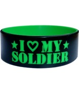 """20 One Inch Custom Silicone Wristbands 1"""" w/ COLOR TEXT - $59.80"""