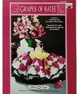 Fibre Craft Grapes of Bath Crochet Toilet Tissu... - $7.95