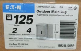 Eaton BR24L125RP Outdoor Main Lug 125 Amp 2 Spaces 4 Circuits image 11