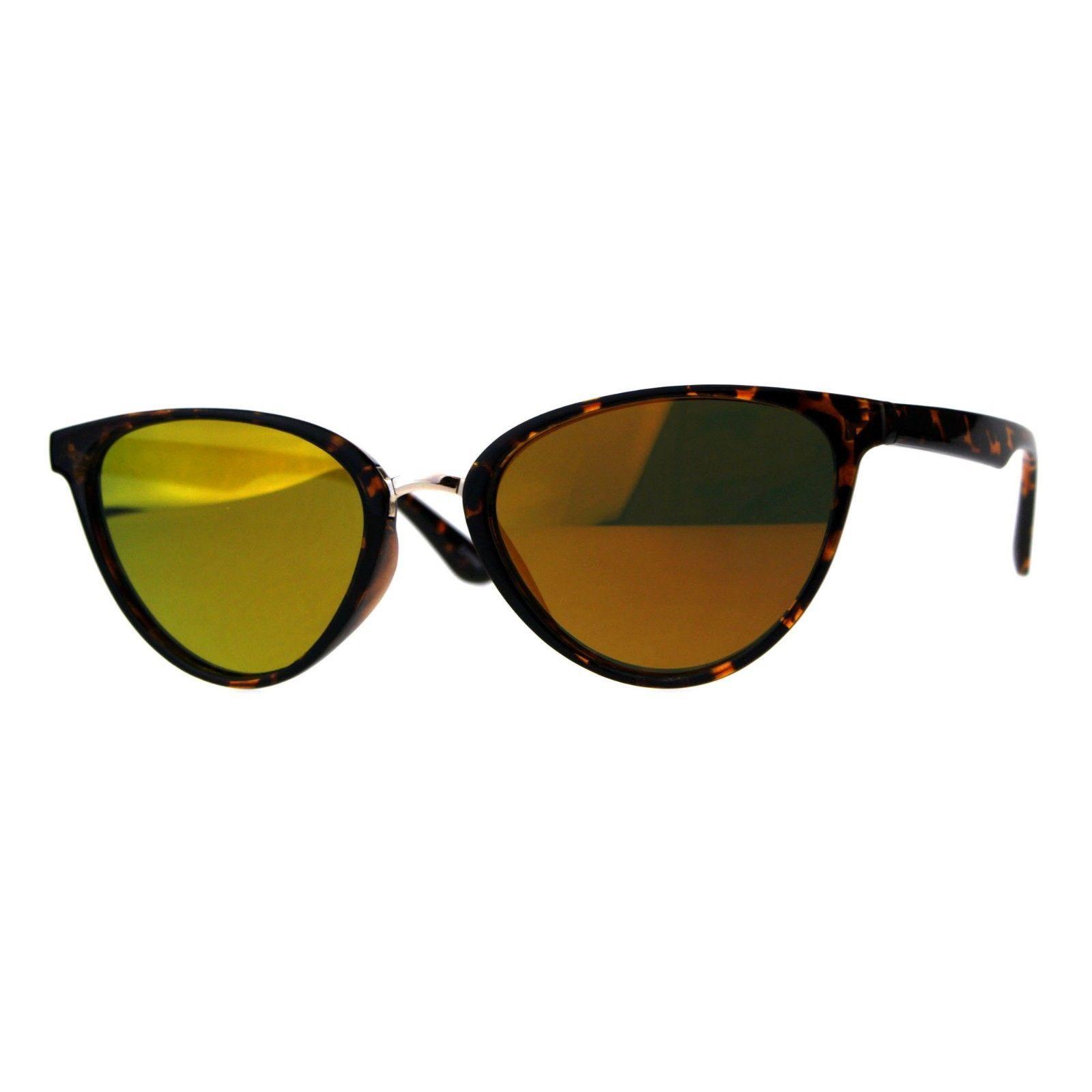 Womens Sunglasses Designer Fashion Triangular Oval Mirror Lens UV 400