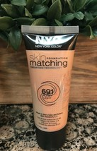 Nyc New York Color Skin Matching Foundation Color Adjusting ~ 691 Honey Light ~ - $19.73