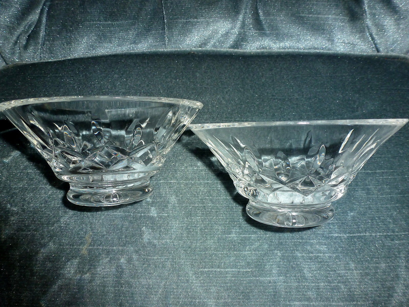 "Primary image for Crystal Lead Lot 2 WATERFORD FLARE BOWLS 4-3/4"" Diameter NO CRACKS CHIPS NEW (A)"