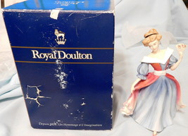 """FIGURINE Royal Doulton """"Amy"""" HN 3316 8"""" Tall Figure of the Year 1991 WIT... - $194.99"""