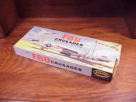 Aurora F8U Crusader Model Kit No. 119-100 Box Only - $6.95