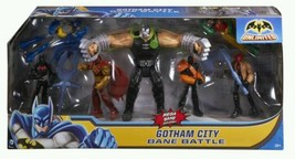 Batman Unlimited 2014 Gotham City Bane Battle Action Figures, 7-Pack - NIB - $47.95