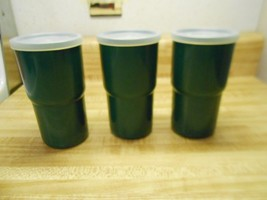tupperware tumblers with lids - $14.95