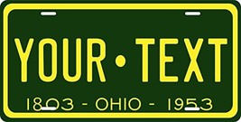 Ohio 1953 Personalized Tag Vehicle Car Auto License Plate - $16.75