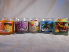 SCENTED Jar CANDLE Choose Ocean Mist Sweet Pea Pina Colada Mistic Mango ... - $5.00+