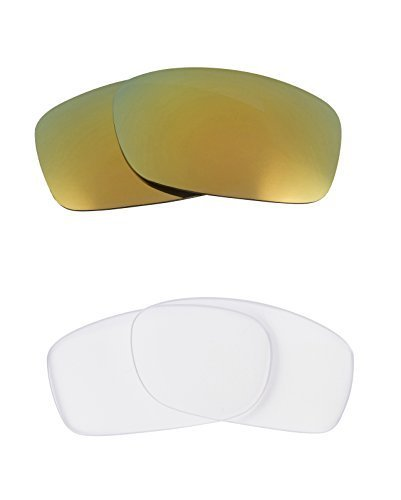 Primary image for New SEEK OPTICS Replacement Lenses Oakley FIVES 3.0 - Clear Green