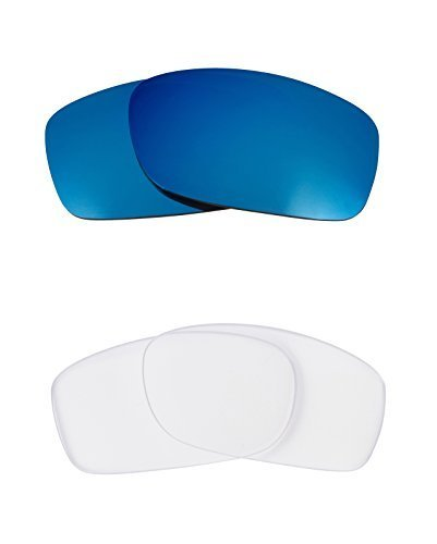 Primary image for New SEEK OPTICS Replacement Lenses Oakley FIVES 3.0 - Clear Blue