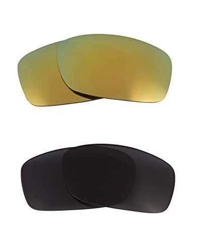 Primary image for New SEEK OPTICS Replacement Lenses Oakley FIVES 3.0 - Grey Green