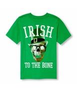 THE CHILDREN'S PLACE  IRISH TO THE BONE T-SHIRT L 10/12  ST PATRICK'S DA... - $6.92