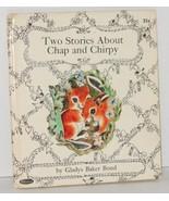 Whitman Book Chap and Chirpy Chipmunk 1965 - Squirrel Vintage Children's... - $9.99