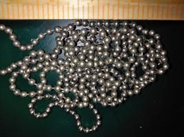 "7III94 Ball Chain, 1/4"" Pitch, 5/32"" Ball, 42"" Loop (84"" If Severed), Very Good - $8.68"