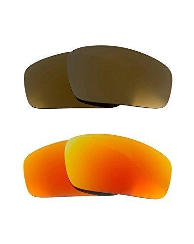 New SEEK OPTICS Replacement Lenses Oakley MONSTER PUP - Gold Yellow