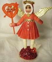 Vintage Inspired Spun Cotton Valentine Angel no. 140 image 1