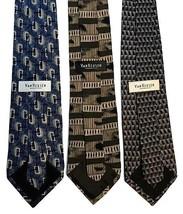 """NEW LOT of THREE (3) VAN HEUSEN Men's Neck Ties Imported Silk 58"""" Retail... - $18.95"""
