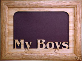 """My Boys"" Photo Picture Frame 5x7 - $31.95"