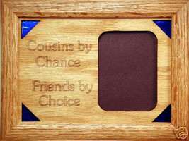 """Cousins Poem"" Family Picture Frame 5x7 - $31.95"
