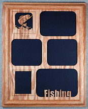 """Bass Fishing"" Picture Frame and Mat 11x14 - $54.95"