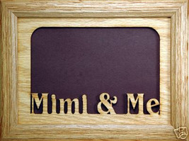"""Mimi and Me"" Picture Frame 5x7 - $31.95"