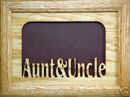 """Aunt and Uncle"" Picture Frame 5x7 - $31.95"