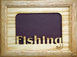 """Fishing"" Picture Frame 5x7 - $31.95"