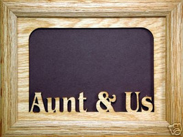 """Aunt and Us"" Picture Frame 5x7 - $31.95"