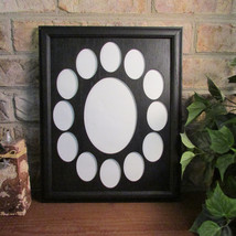 School Years Frame Collage k-12 Graduation Oval Black Picture Frame Blac... - $49.95