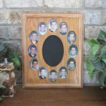 School Years Collage Picture Frame K-12 Graduation Oval 11x14 - £41.31 GBP