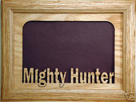 """Mighty Hunter"" Picture Frame 5x7 - $31.95"