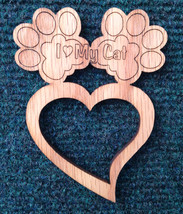 """I Love My Cat"" Pet Refrigerator Magnet - $9.95"