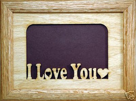 """""""I Love You"""" Picture Frame 5x7 - $31.95"""