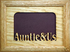 """""""Auntie and Us"""" Picture Frame 5x7 - $31.95"""