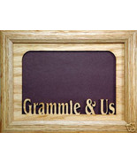 """Grammie and Us"" Photo Picture Frame 5x7 - $31.95"