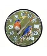 """12.5"""" BLUEBIRD Floral Indoor Outdoor Hanging Th... - $22.50"""