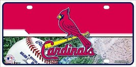 St Louis Cardinals  License Plate Sign Tag - $18.99