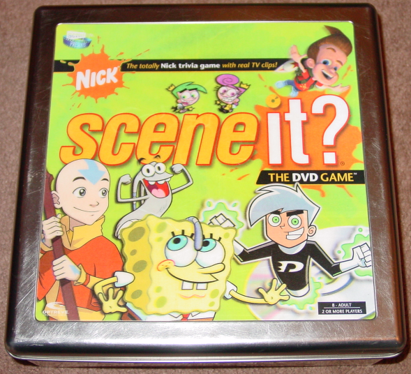 SCENE IT DVD GAME NICK NICKELODEAN TIN SCREENLIFE 2006 COMPLETE EXCELLENT - $15.00