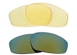 New SEEK Replacement Lenses Oakley WIND JACKET - HI Yellow Green - $23.25